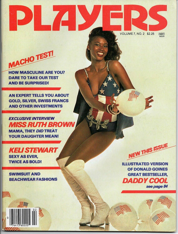 Players Magazine V7N2 July 1980 Keli Stewart