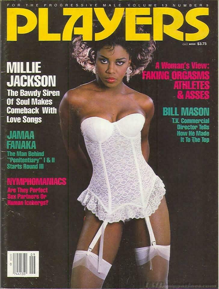 Players Black Adult Magazine V13N9 February 1987