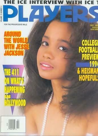 Players Men's Magazine Ebony Ayes Volume 21 #4 September 1994