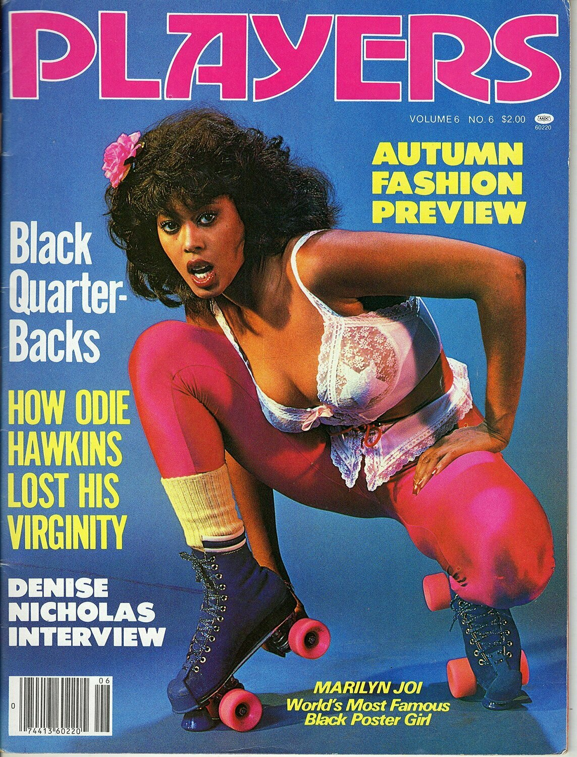 Players Magazine V6N6 NOVEMBER 1979 KELI STEWART