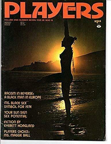 PLAYERS V1N7 1974 Maggie Ball BEAUTIFUL BLACK WOMEN
