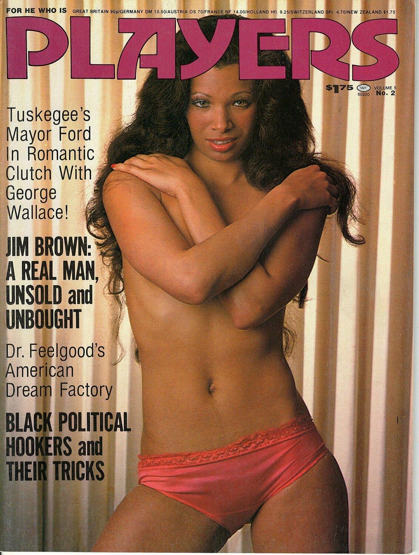 Players Black Adult Magazine V5N2 July 1978
