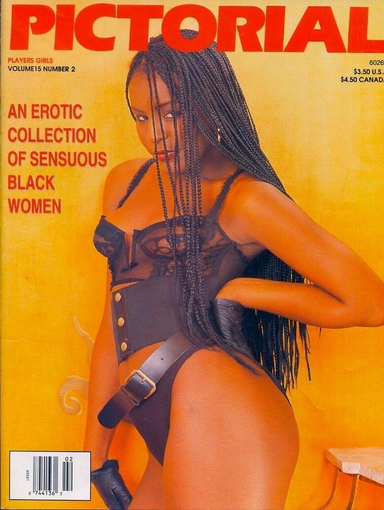 Players PICTORIAL Black Adult Magazine V15N2
