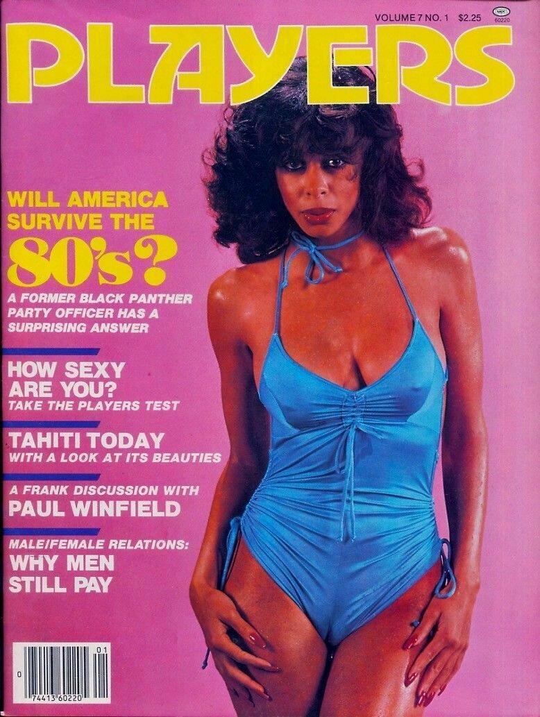 Players Black Adult Magazine V7N1 1980