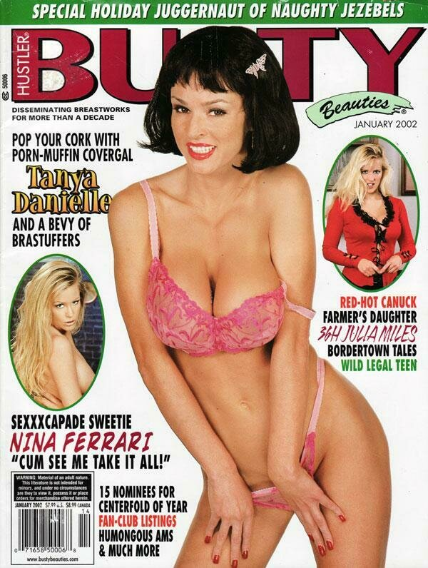 Busty Beauties Magazine Back Issue January 2002