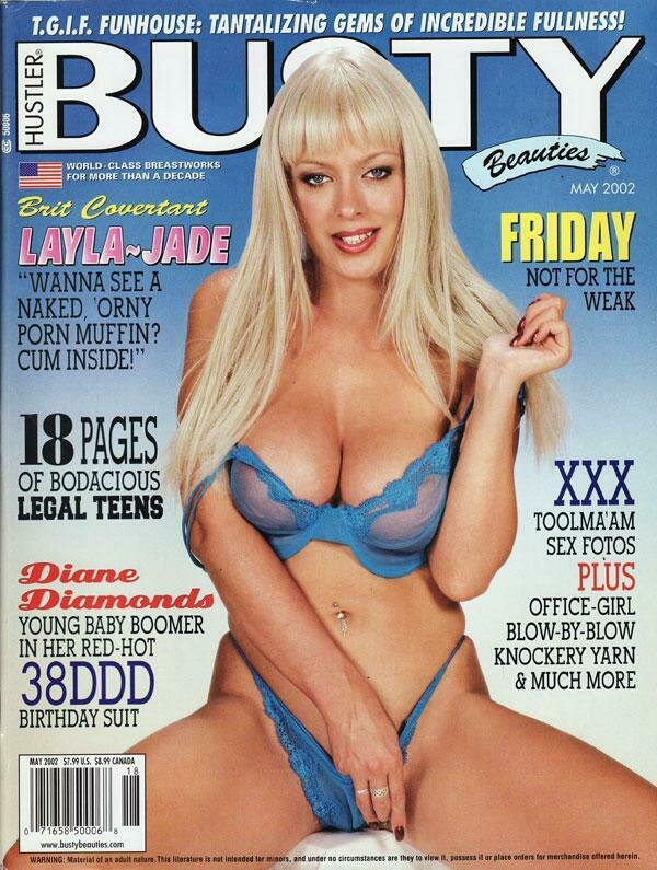 Busty Beauties Magazine Back Issue May 2002