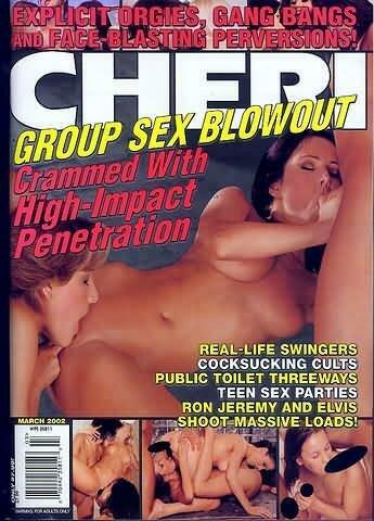 Cheri Magazine March 2002