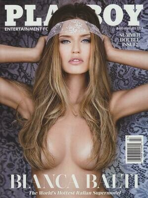 Playboy Magazine Back Issue July/August 2014