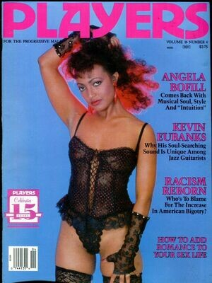 CLASSIC Players Adult Magazine Angela Bofill Vol.16 #4 September 1989