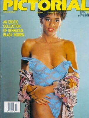 Players Girls Pictorial Men's Magazine Donna Ambrose Vol 13 #12 July 1993