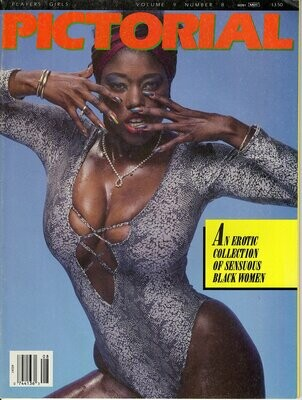PLAYERS GIRLS PICTORIAL V9N8 MARCH 1989 Ebony Ayes