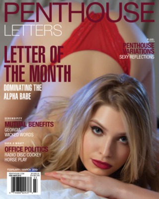 Penthouse Letters Adult Magazine Feb/Mar 2019