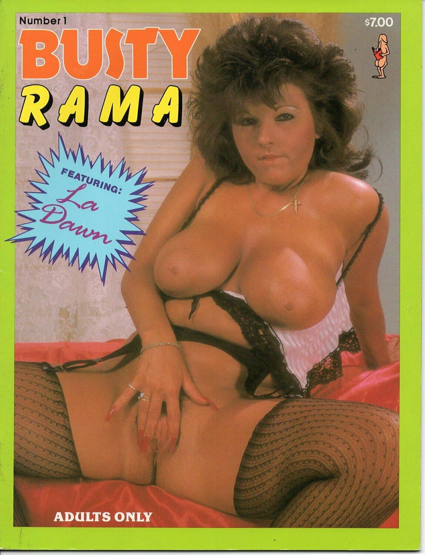 BUSTY RAMA MEN's MAGAZINE Volume 1 Number 1 LA DAWN