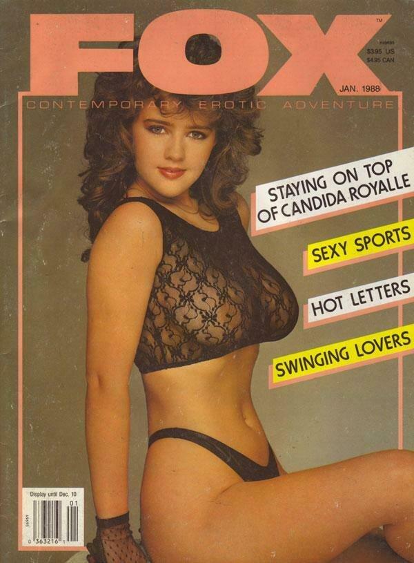 VINTAGE FOX MAGAZINE January 1988 Jeanna Fine