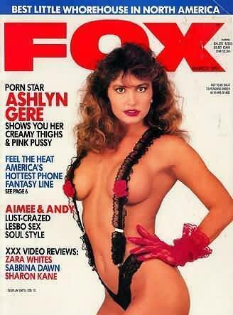 Vintage Fox Adult Magazine March 1991