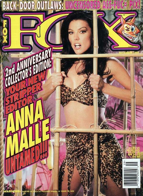 Fox Magazine September 1999 Anna Malle