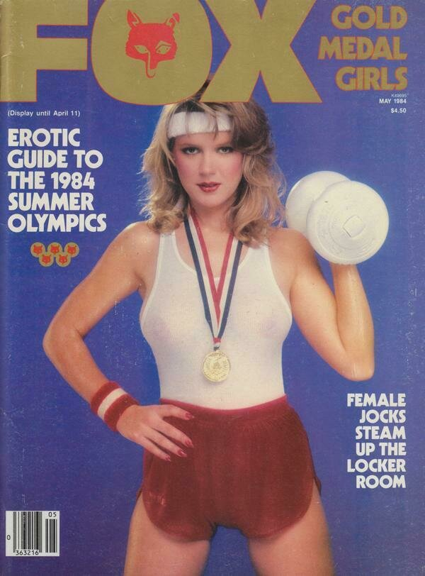 VINTAGE FOX MAY 1984 SUMMER OLYMPIC TRIBUTE SHAUNA EVANS