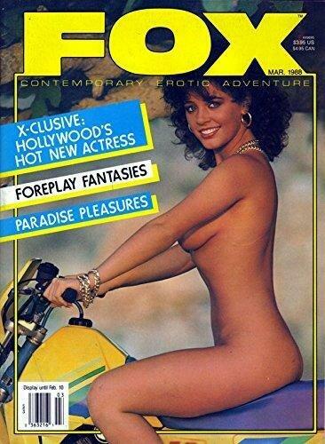 VINTAGE FOX MARCH 1988 KELI STEWART PICTORIAL