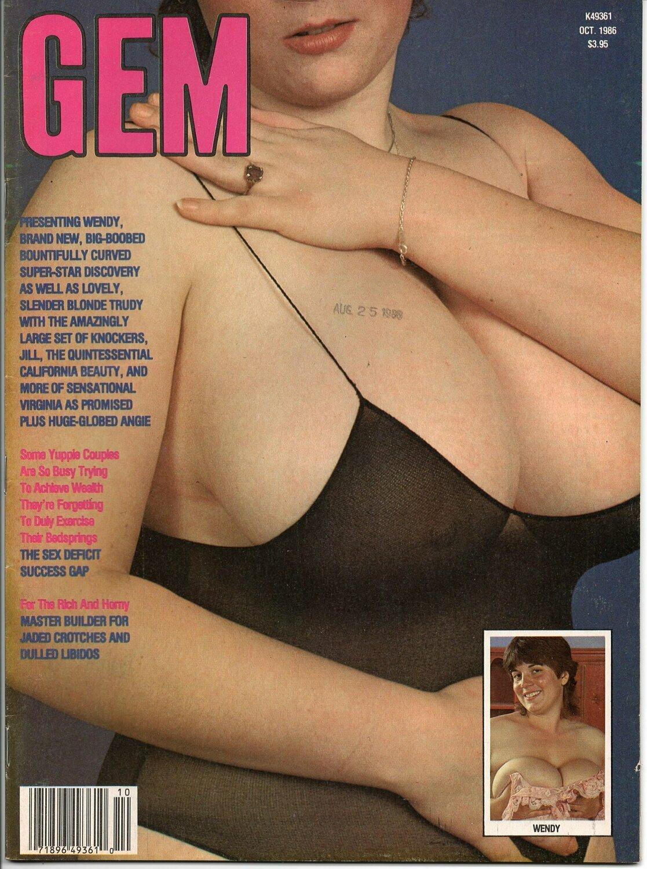 Gem Vintage Magazine Back Issue October 1986