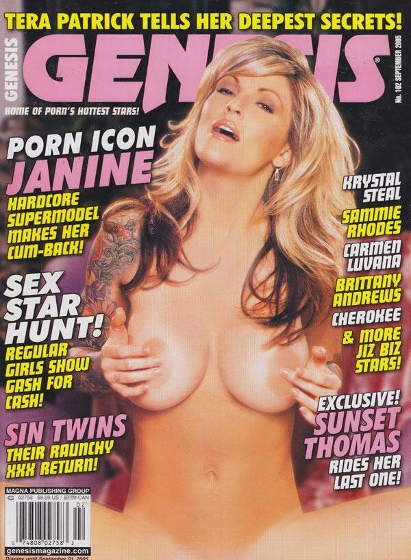 Genesis Vintage adult magazine September 2005