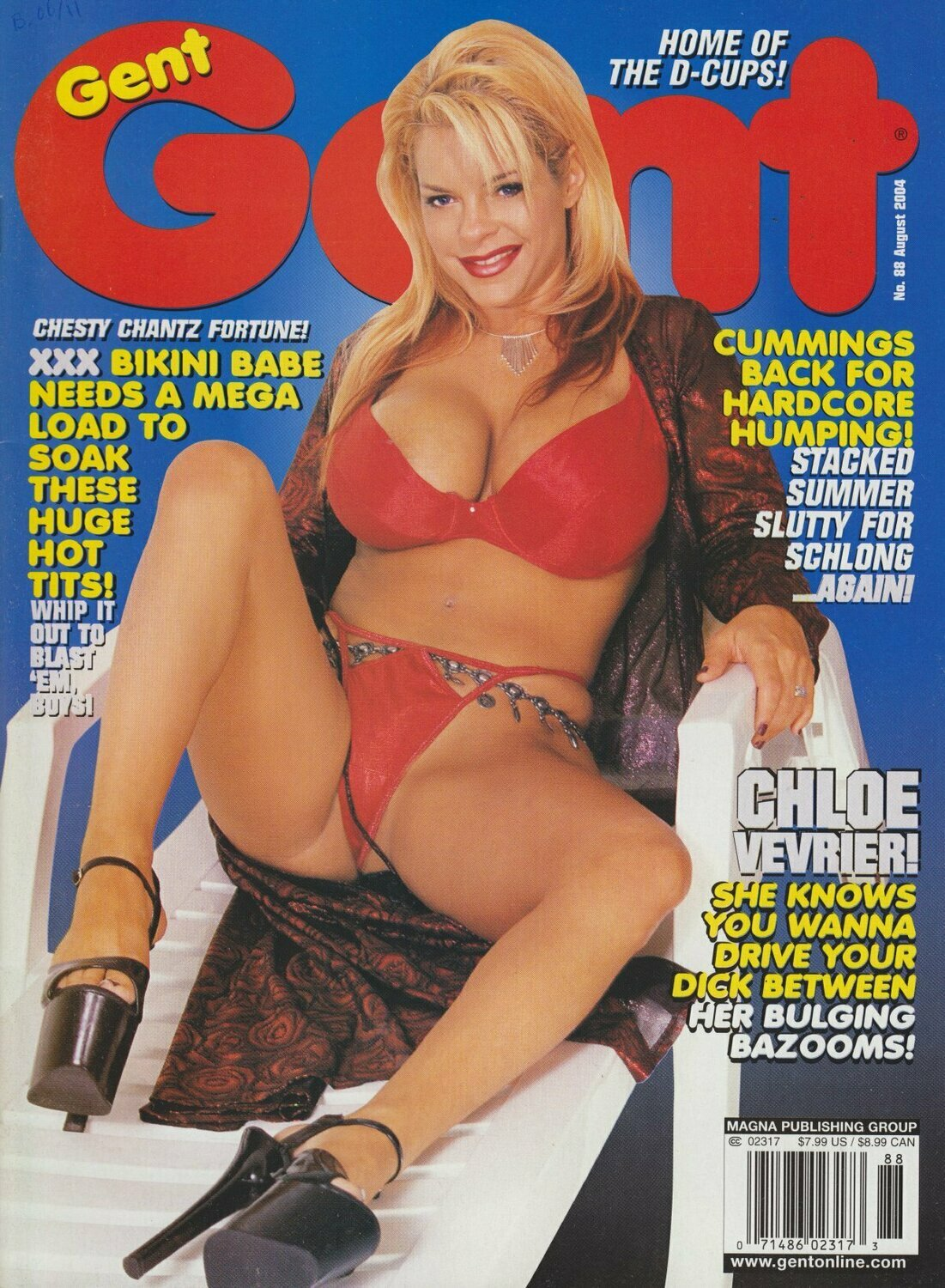 Gent Vintage Magazine Back Issue August 2004