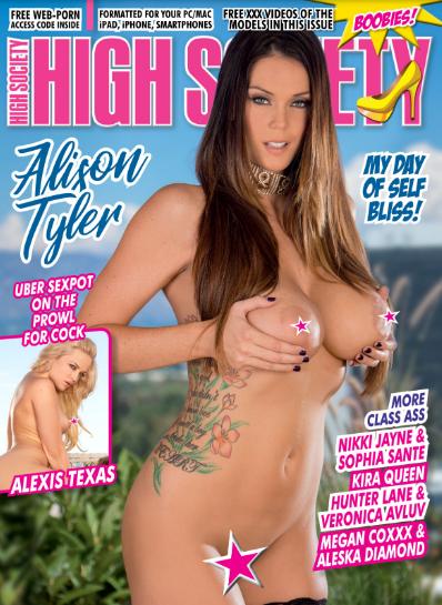 High Society #274 2019 Adult Magazine Alison Tyler