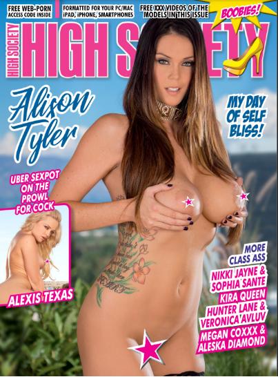 High Society Magazine #274 2019 Alison Tyler