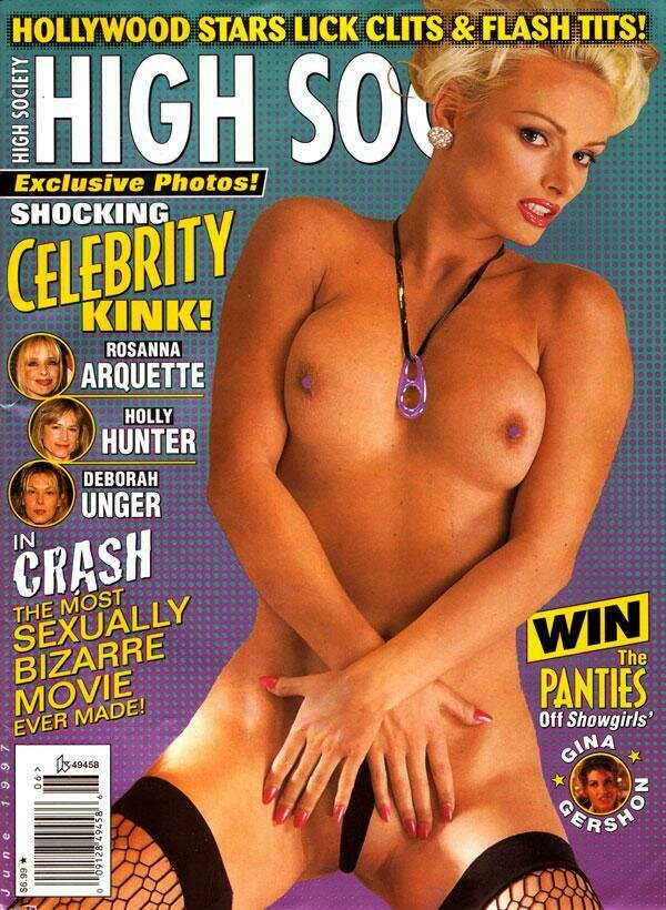 High Society Adult Magazine Back Issue June 1997