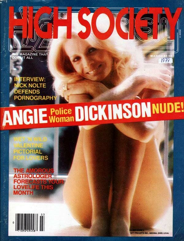High Society Adult Magazine Back Issue March 1979