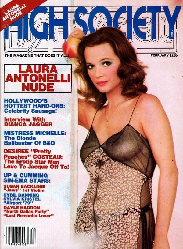 High Society Adult Magazine Back Issue February 1980