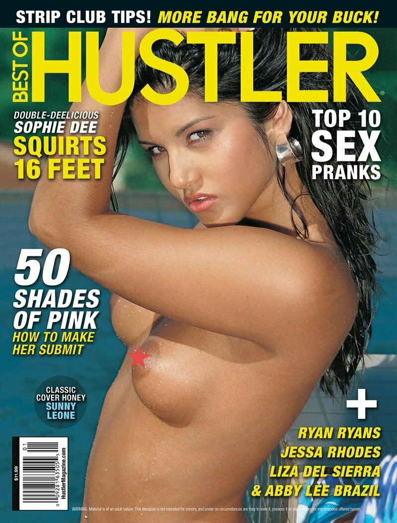 BEST OF HUSTLER Adult Magazine Issue 201 2015