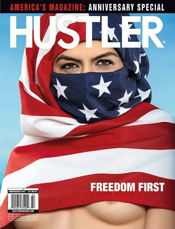 HUSTLER Adult Magazine Anniversary 2017