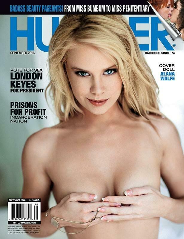 HUSTLER Adult Magazine September 2016