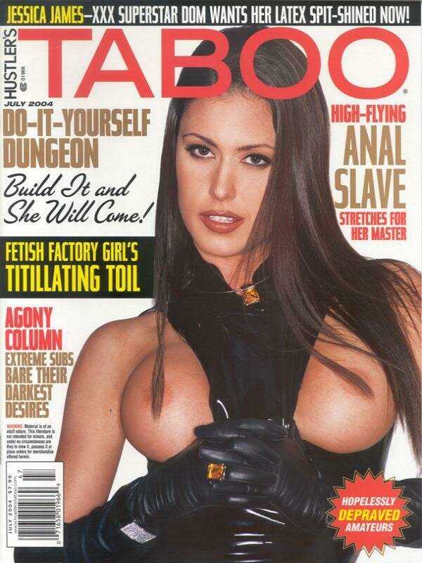 HUSTLER Taboo Adult Magazine July 2004