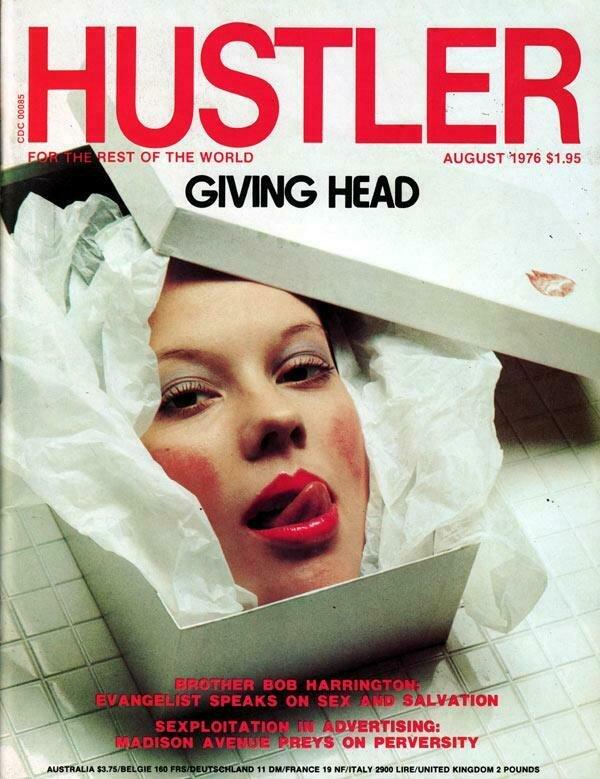 Hustler Vintage Adult Magazine August 1976