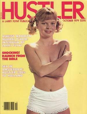 Hustler Vintage Adult Magazine October 1979