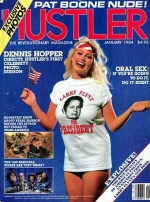 Hustler Vintage Adult Magazine January 1984 Keli Stewart