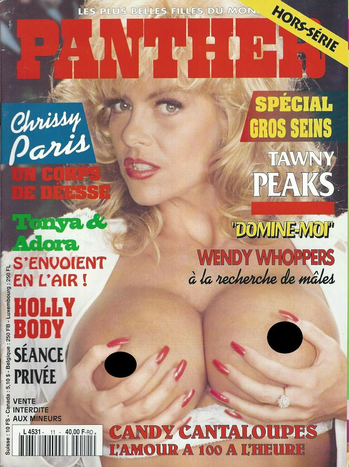 Panther International Adult Magazine 1994