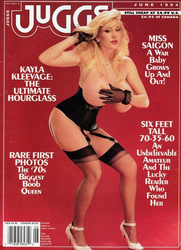 Juggs adult Magazine June 1994