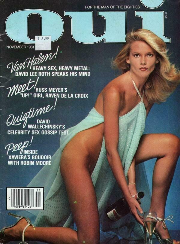 Vintage Oui Adult Magazine Back Issue November 1981