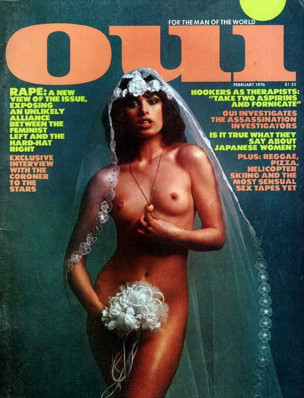 Vintage Oui Adult Magazine Back Issue February 1976