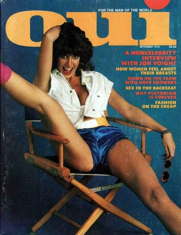 Vintage Oui Adult Magazine Back Issue September 1978