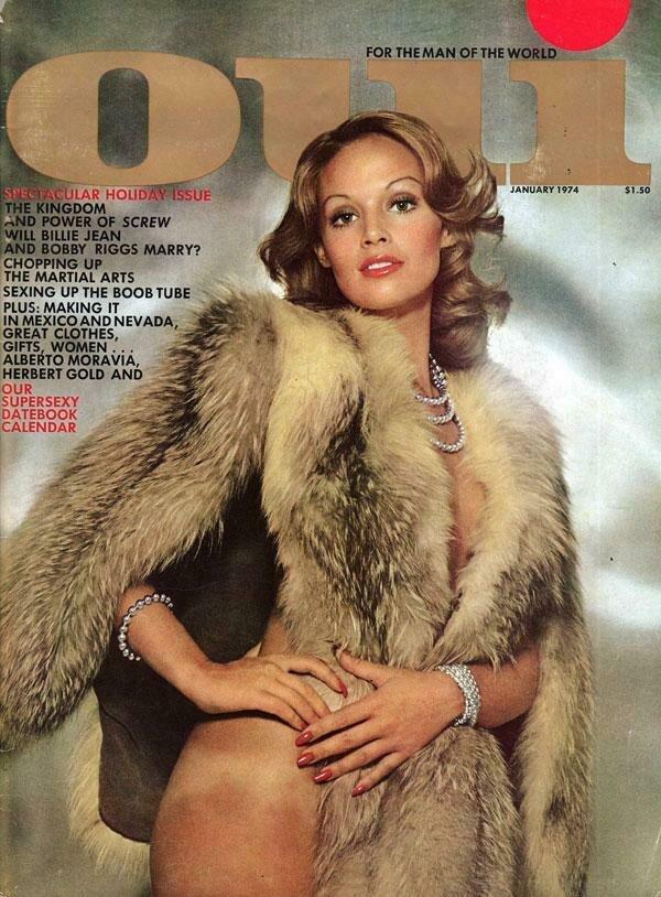 Vintage Oui Adult Magazine Back Issue January 1974