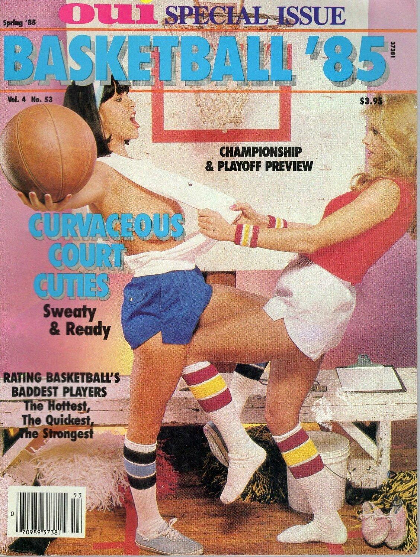 Oui Adult Magazine Special Issue Basketball '85 vol.4 1985 KELI STEWART
