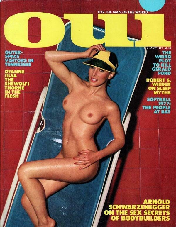 Vintage Oui Adult Magazine Back Issue August 1977