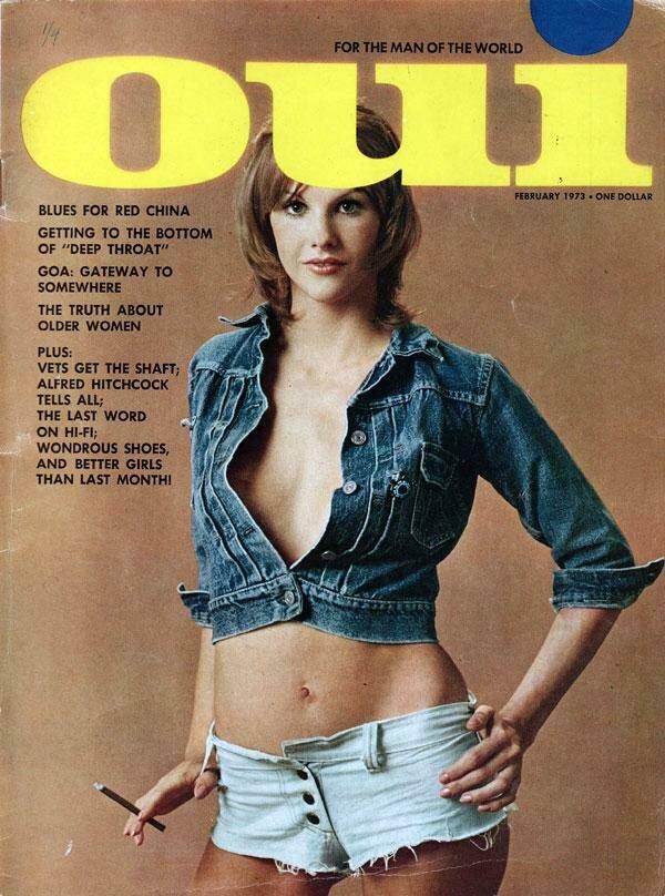Vintage Oui Adult Magazine Back Issue February 1973