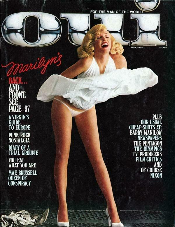 Vintage Oui Adult Magazine Back Issue May 1978