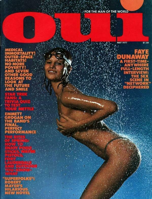 Vintage Oui Adult Magazine Back Issue May 1977