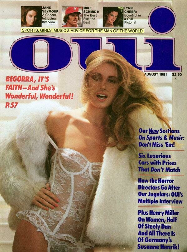 Vintage Oui Adult Magazine Back Issue August 1981