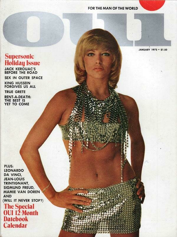 Vintage Oui Adult Magazine Back Issue January 1973